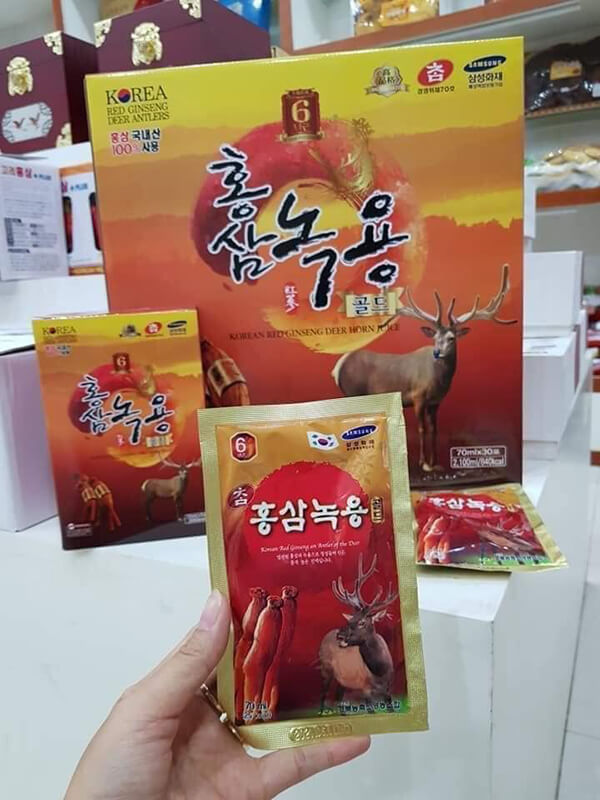 Review đánh giá và những hỏi đáp về Nước hồng sâm nhung hươu Hàn Quốc
