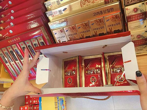 Công dụng của Nước Hồng Sâm Korean Red Ginseng Giryockbo