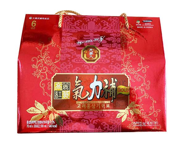 Nước Hồng Sâm Korean Red Ginseng Giryockbo Hàn Quốc có tốt không?