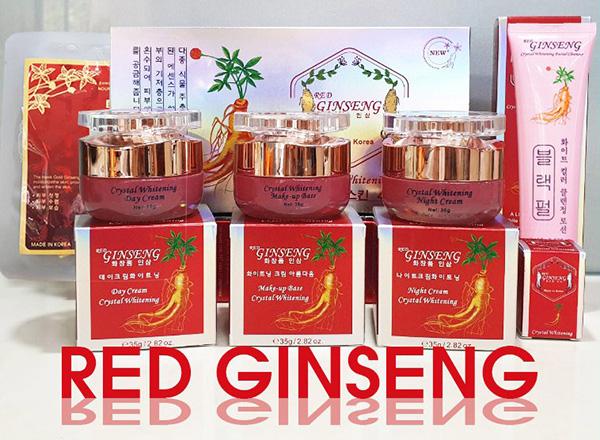 Bộ mỹ phẩm Bộ Mỹ Phẩm Hồng Sâm Red Ginseng