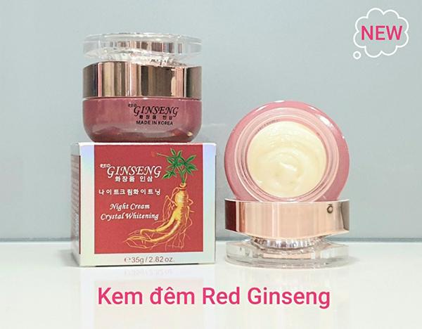 Kem dưỡng Hồng Sâm Red Ginseng ban đêm