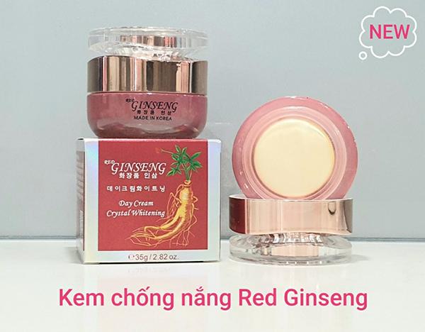 Kem Chống Nắng Hồng Sâm Red Ginseng