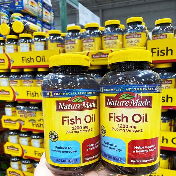 hướng dẫn sử dụng dầu cá