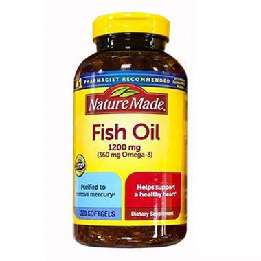 dầu cá omega 3 nature made fish oil