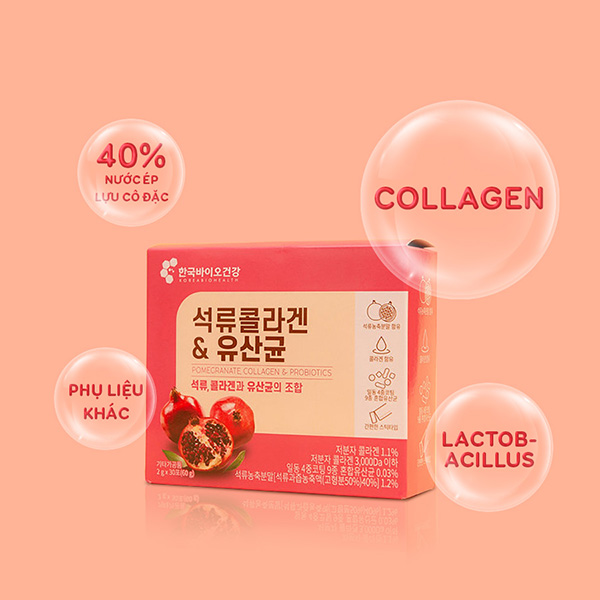 Bột Collagen Bio Cell Hàn Quốc