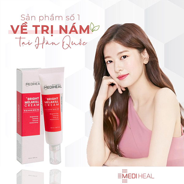 Kem Dưỡng Mờ Nám Mediheal Bright Melakill Cream