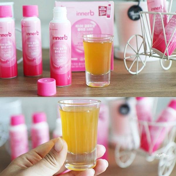 Những lưu ý khi sử dụng Nước Uống Innerb Glowshot Collagen