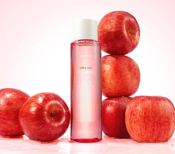 Công dụng của Nước Hoa Hồng Goodal Apple AHA Clearing Toner